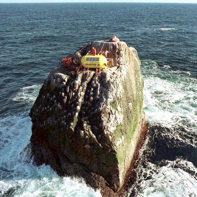 Pulau Kecil Ini Diperebutkan oleh 4 Negara