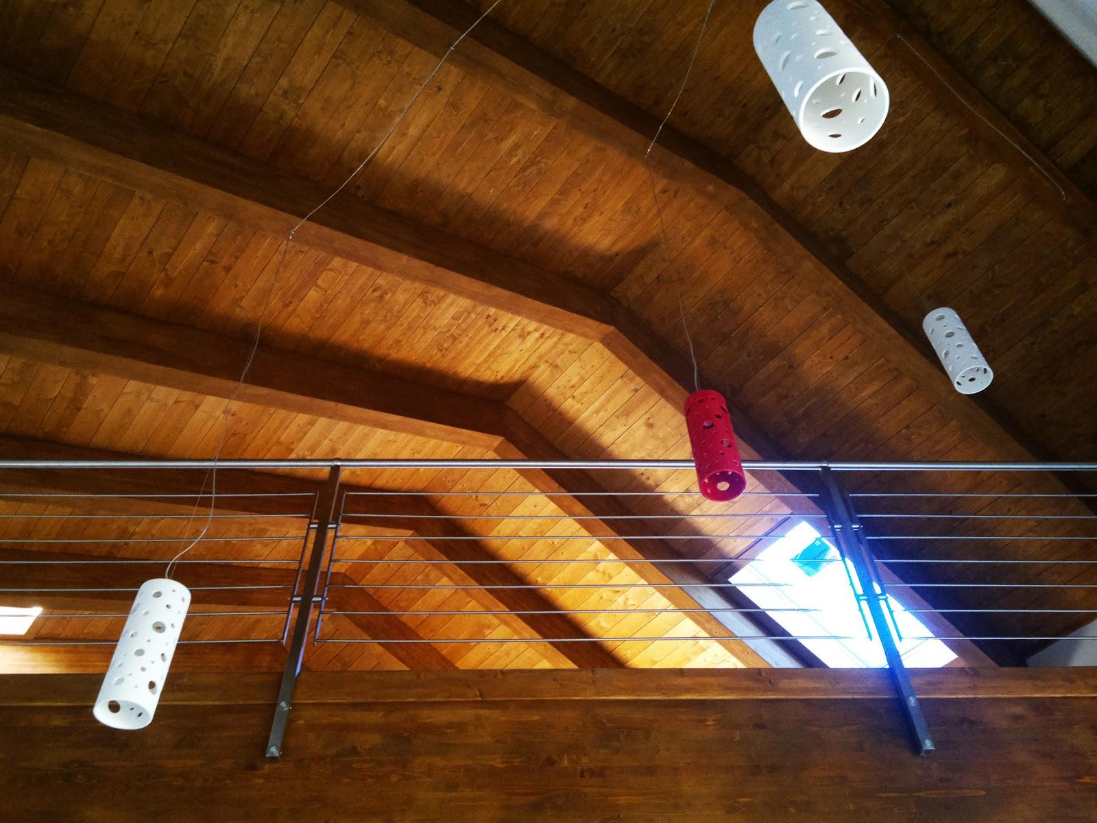 Lampade soggiorno legno faretti per soffitto in legno