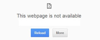 Mengatasi Google Chrome error: This webpage is not ...  This Webpage Is Not Available