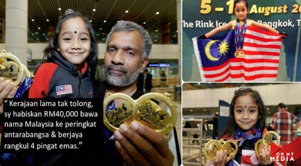 Kerajaan BN Tak Tolong, Bapa Habiskan Simpanan RM40 Ribu Latih Anak Jadi Atlet Negara