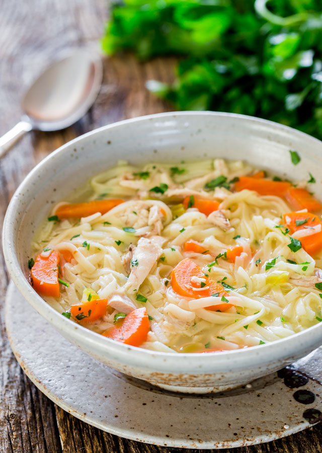 Homemade chicken noodle soup recipe best recipes of food for Best homemade chicken noodle soup recipe