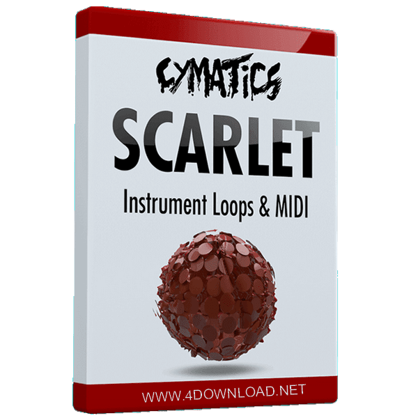 Download Cymatics - Scarlet Instrument Loops & MIDI