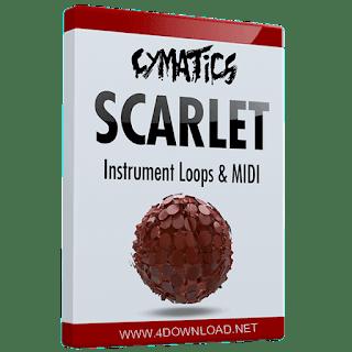 Cymatics - Scarlet Instrument Loops & MIDI