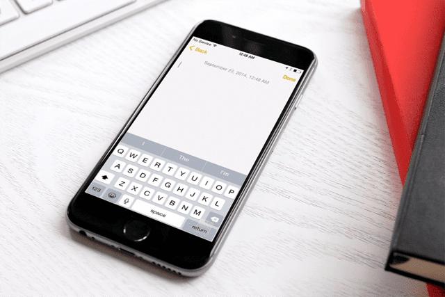 kustom keyboards di iPhone 6