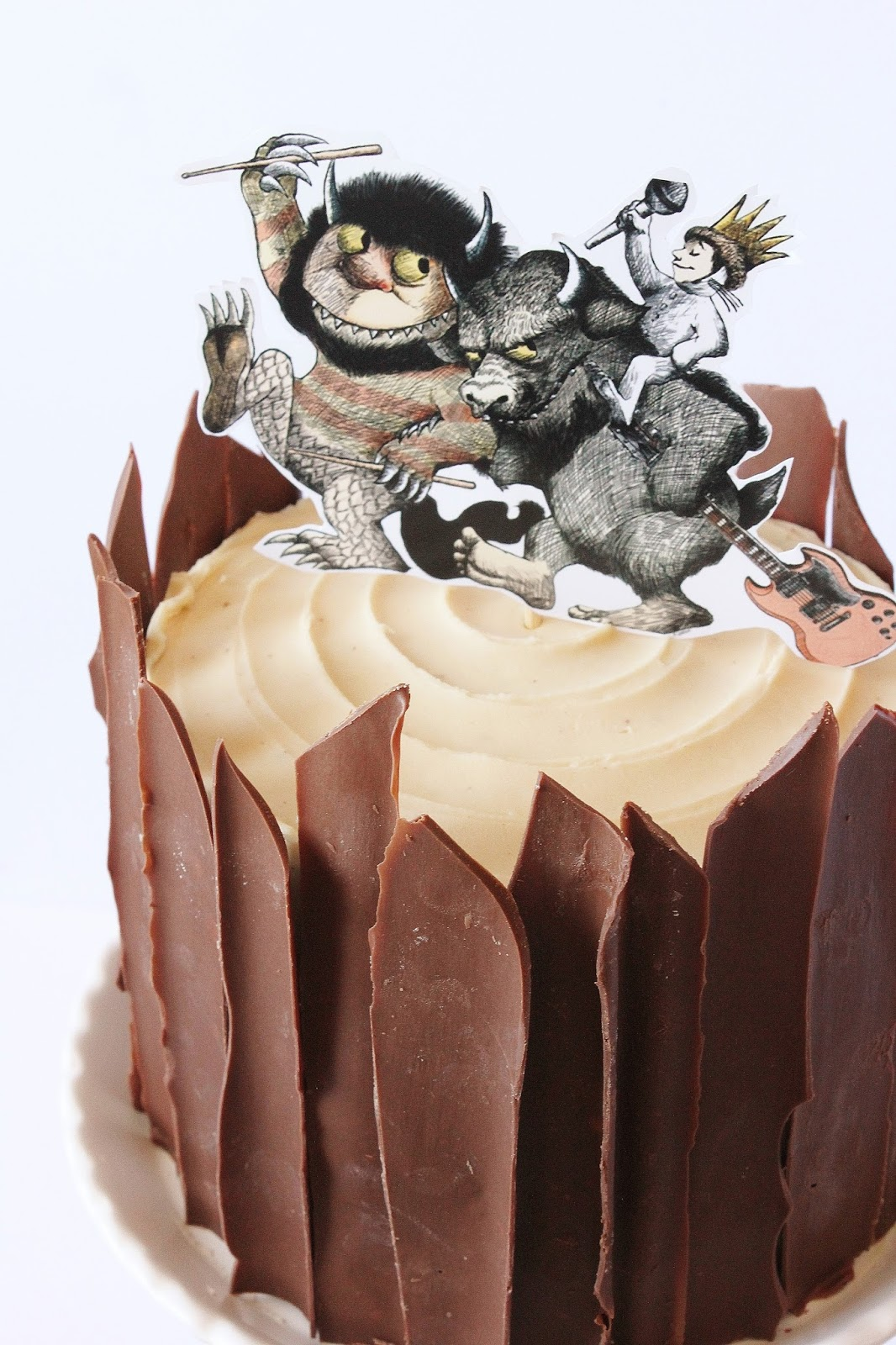 Where The Wild Things Are Birthday Party + Cakes!