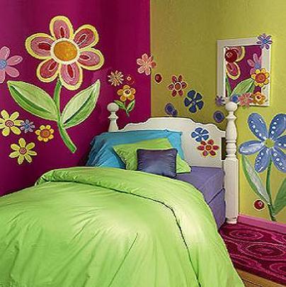 دهان غرف أطفال 2020 باللون البتنجاني