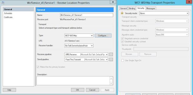 configure WCF-WSHttp adapter