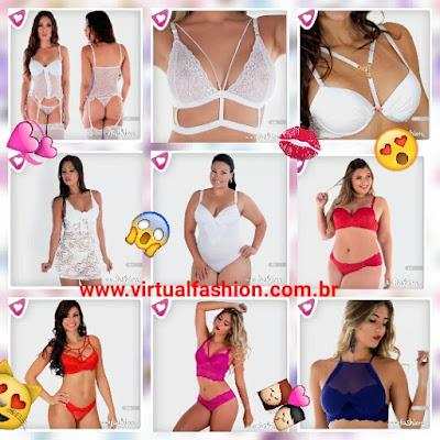 lingerie básica e ousada