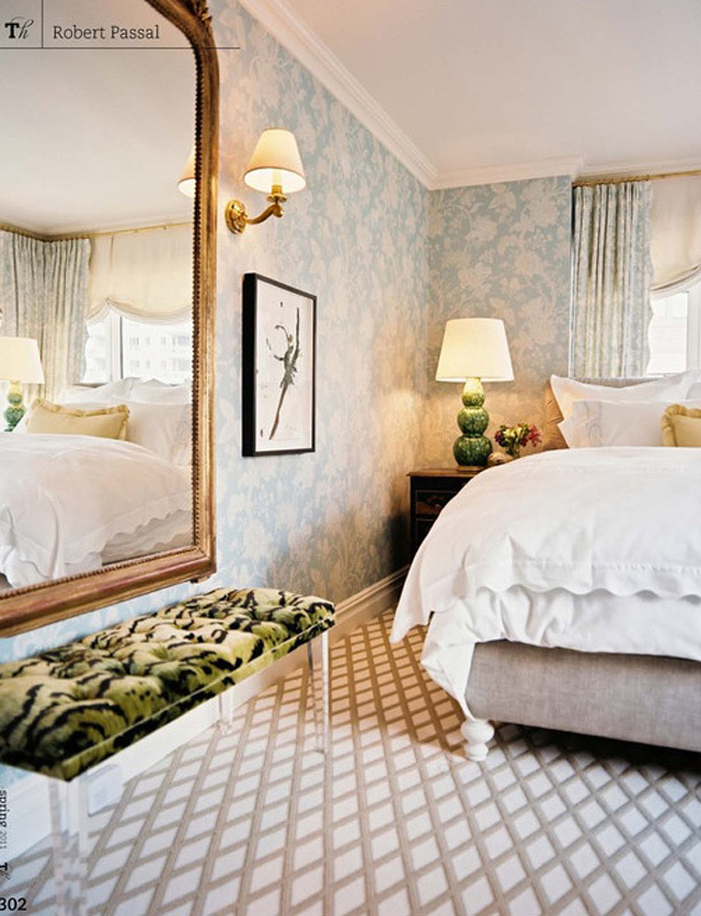 The Peak Of Très Chic: Elegant + Soft Bedroom Design