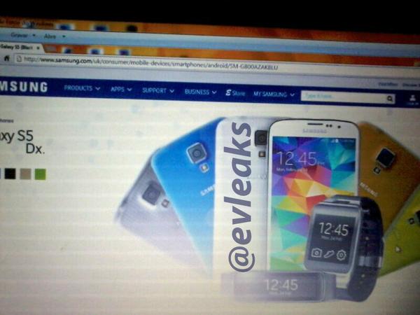 Samsung Galaxy S5 mini (S5Dx -SM-G800)