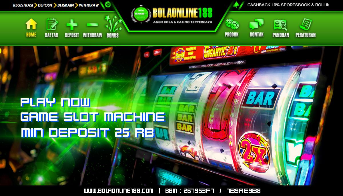 Agen Game Slot Deposit 25 Rb