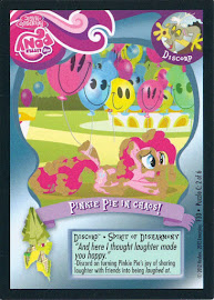 My Little Pony Pinkie Pie in Chaos! Series 1 Trading Card