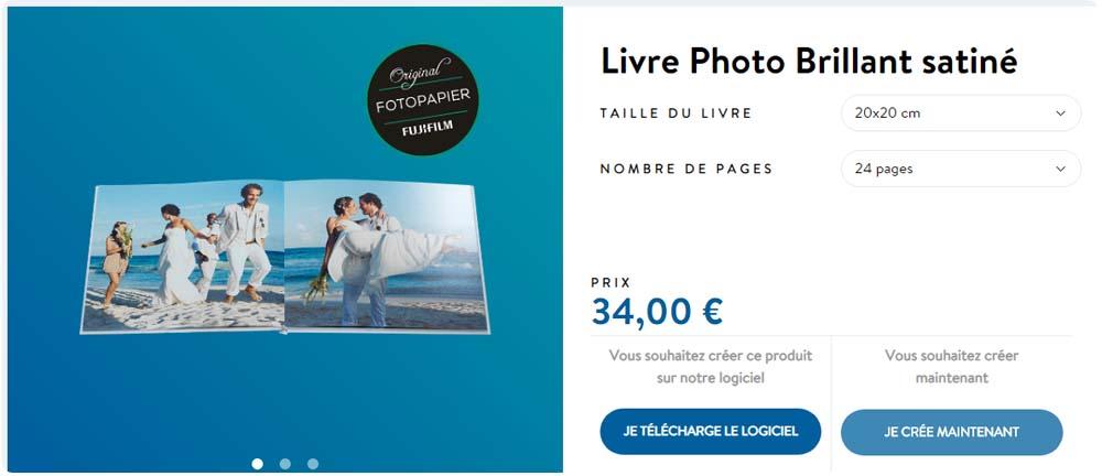 créer votre album photo personnalisé