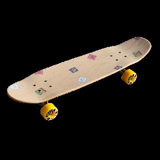 エフダブ街乗りクルーザースケートボードはサーファーのオフトレにも人気