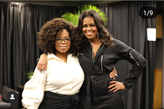 michelle obama, becoming michelle obama, first lady of USA, Oprah Winfrey