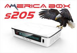 AMERICABOX S205 HD NOVA ATUALIZAÇÃO V2.17 - 31/01/2018