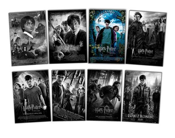 TAG TOP Harry Potter Ulubiony film ekranizacja część Więzień Azkabanu saga cykl komplet