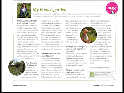 French Village Diaries lifestyle and book review blog Living France My French Garden