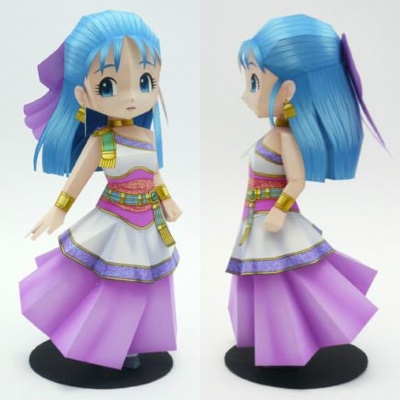 Dragon Quest Papercraft: Nera