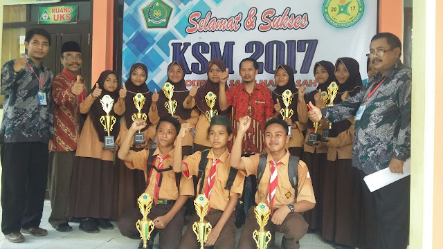 MTsN 1 Probolinggo Langganan Juara KSM Tingkat Kecamatan Paiton