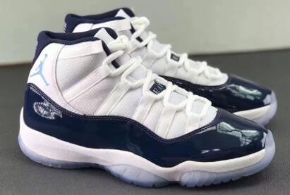 quality design f2468 e29e3 leather heel, navy blue appeared in a large area patent leather upper and  lining agency, North Carolina dotted in the Jumpman logo at the end of the  white ...