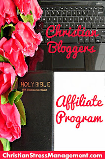 Affiliate program for Christian bloggers