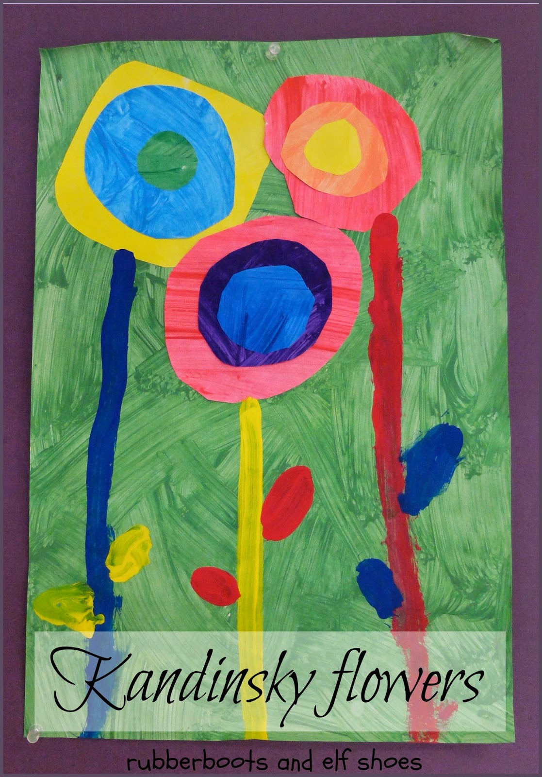 Kandinsky circles - spring style
