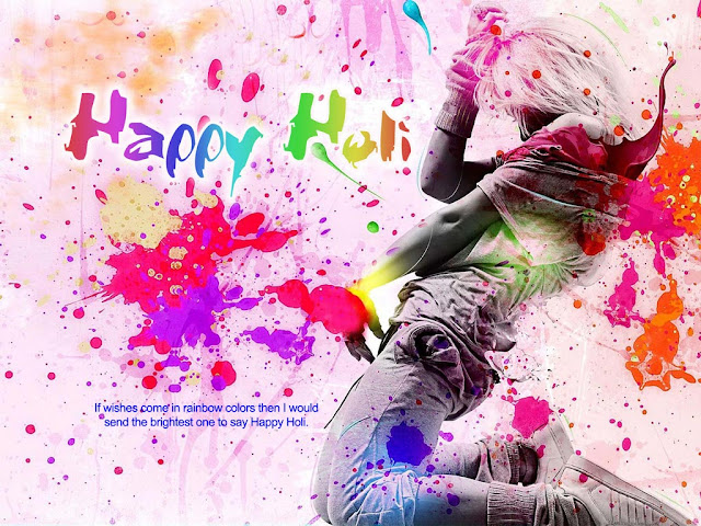 Happy Holi Wishes in English