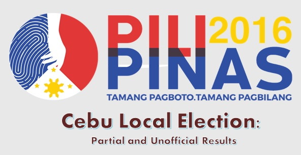 Cebu Local Election Comelec Results 2016 | The Summit Express