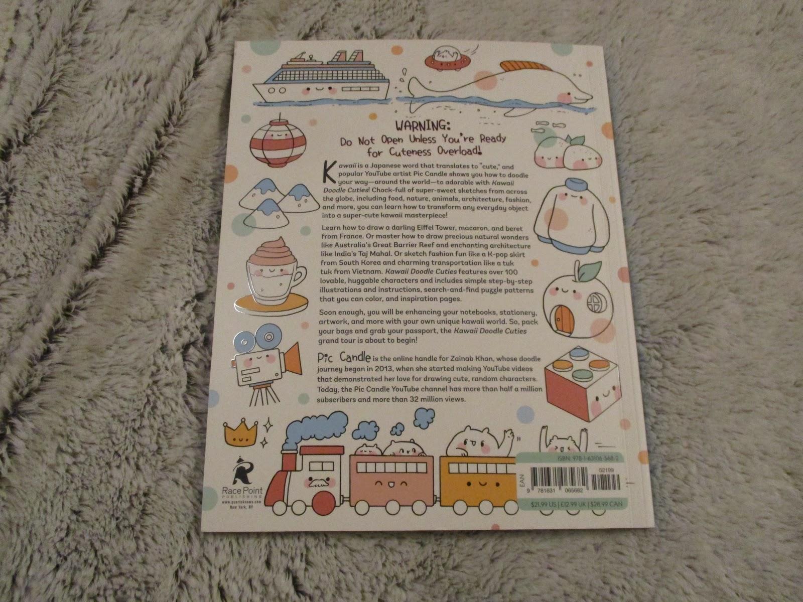 Missys Product Reviews Kawaii Doodle Cuties By Zainab Khan