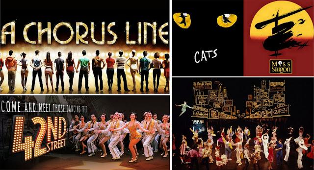 Ingressos para musicais da Broadway, em Nova York