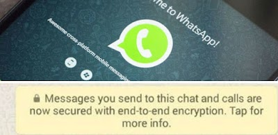 Whatsapp Begins End to End Message Encryption : What is This...???