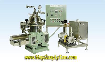 ATC cung cấp máy ly tâm dầu dừa SAITO - Nhật Bản, máy quay ly tâm SAITO