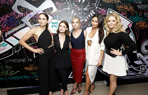 PLL cast talks pranks on set and character superlatives game