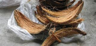 fibra de coco casera