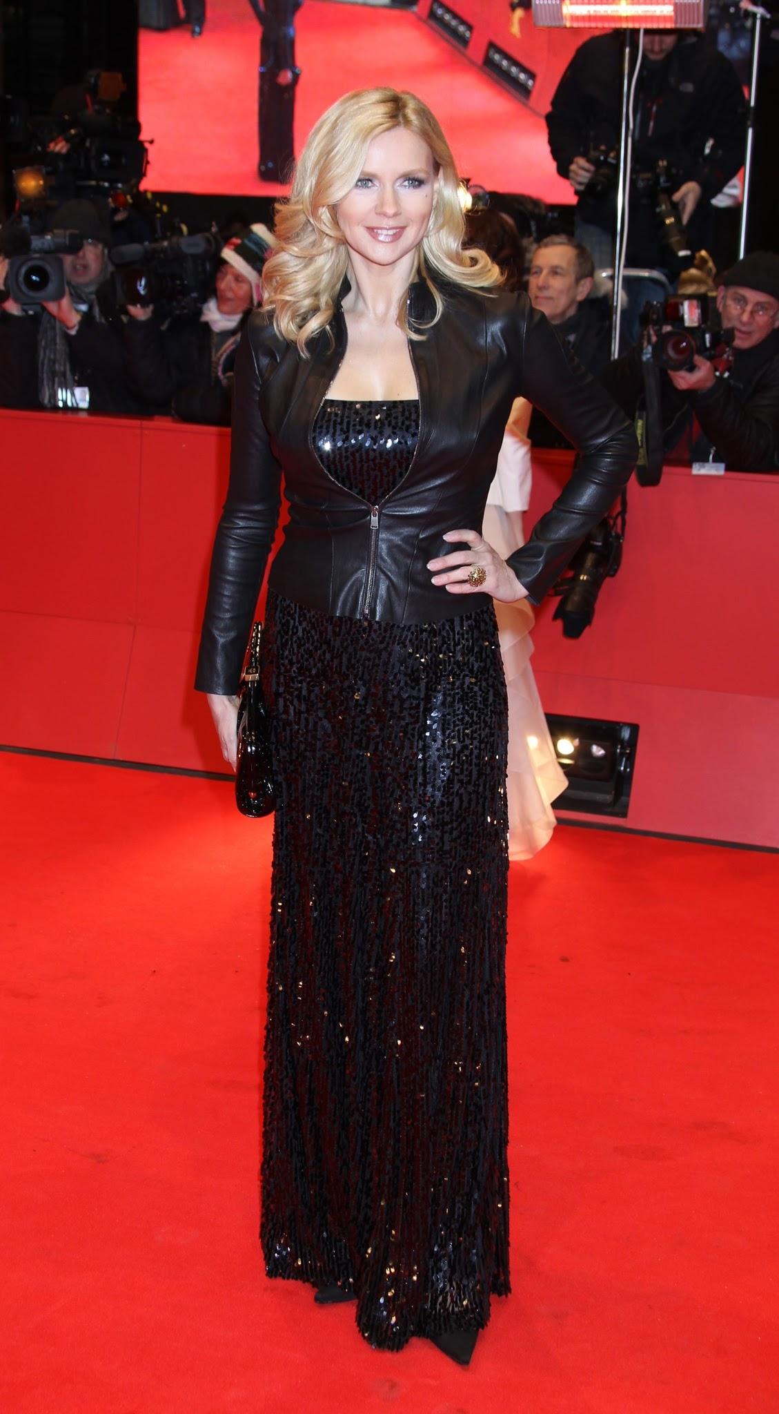 Popular Celebritys Lifestyle Veronica Ferres Leather