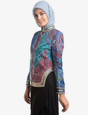 model baju batik 2017 atasan wanita