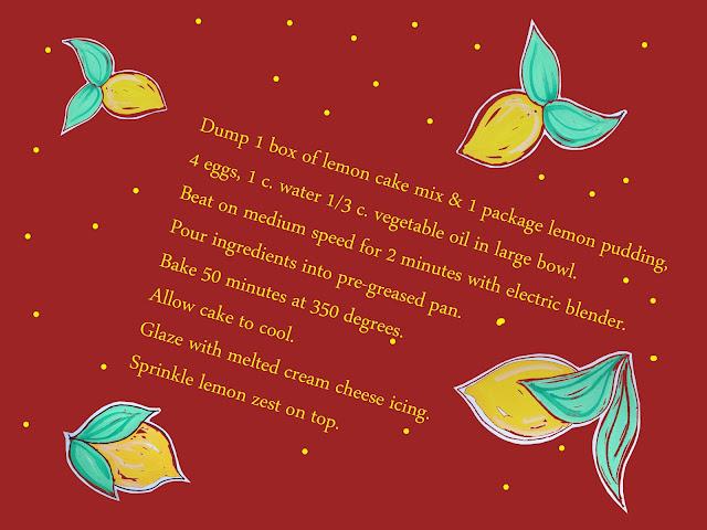 Mrs. Tommy's Lemon Pound Cake - image 5 - student project