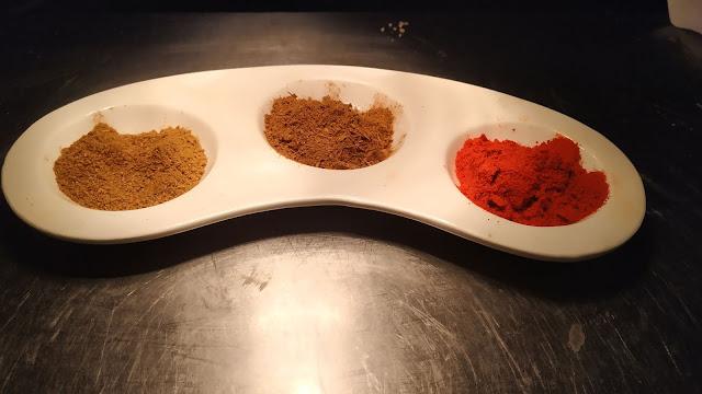 Red Chilly powder Garam masala Cumin powder Food recipe