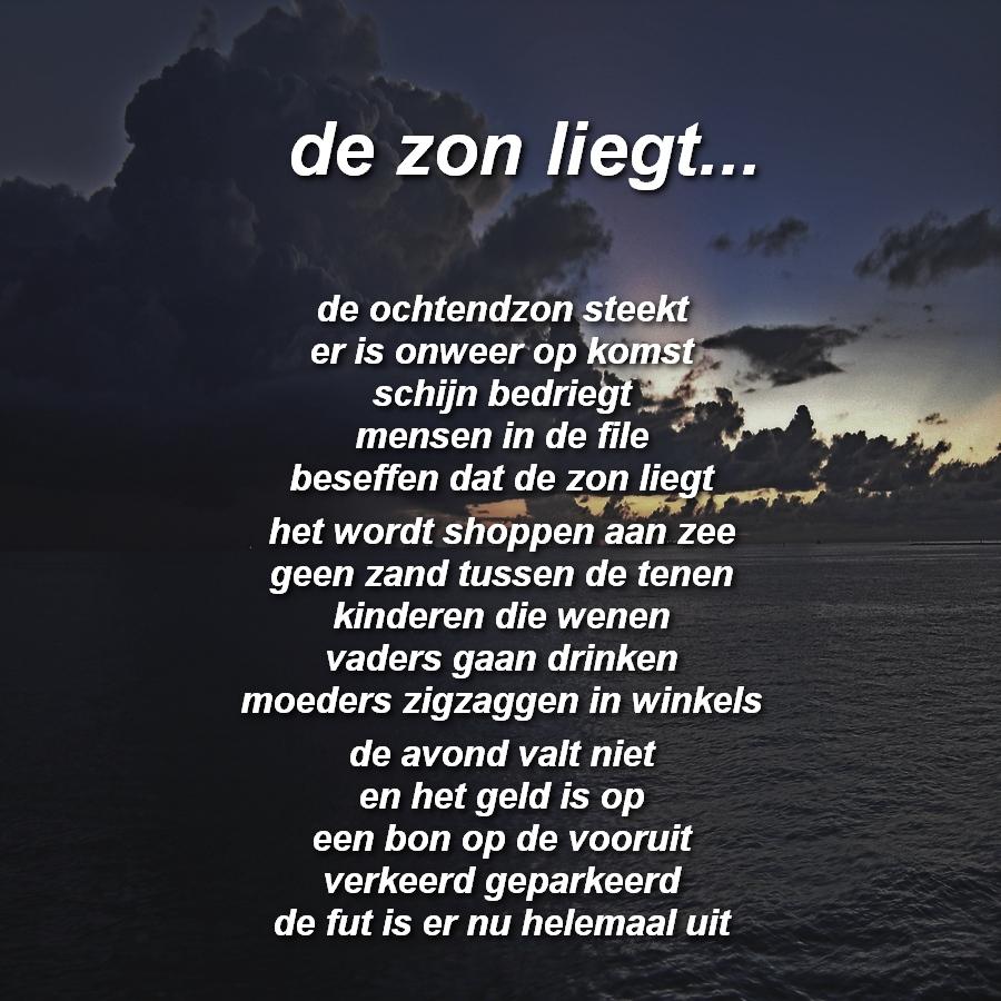 Gedichten In Beeld De Zon Liegt