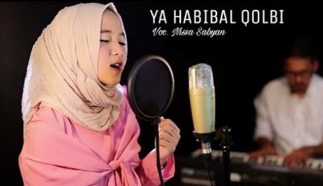 Nissa Sabyan, Lagu Religi, Lagu Cover, Download Lagu Nissa Sabyan Ya Habibal Qolbi Mp3 Album Shalawat Terbaru 2018