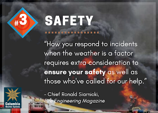 Incident Command Safety Quote