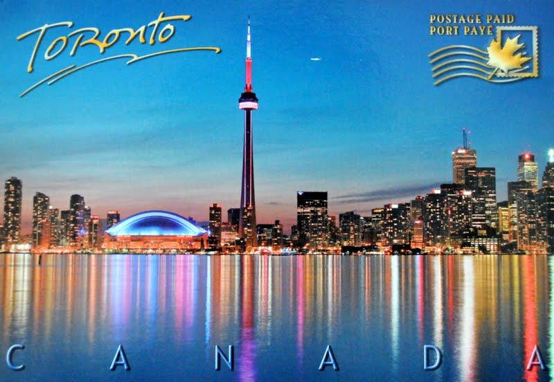 panorama Toronto w Kanadzie