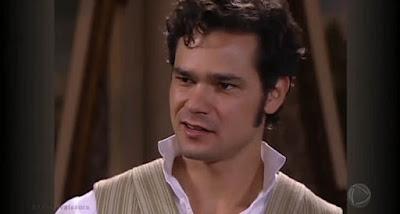 Henrique (Gabriel Gracindo) em A Escrava Isaura