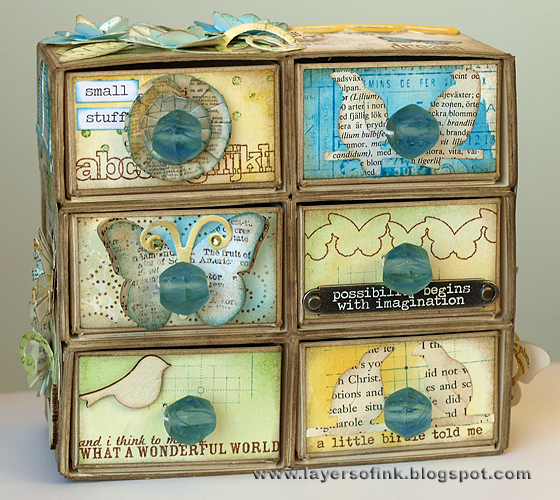 http://layersofink.blogspot.com/2012/08/chest-of-drawers-tutorial.html