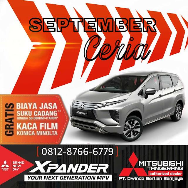 Xpander Promo Mitsubishi Tangerang September