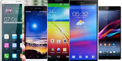 di masa modernisasi ibarat ketika ini memang sangat penting dan menjadi hal utama dalam men 9 Tipe Smartphone Tercanggih 2018