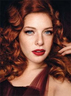 Toutes les couleurs de cheveux roux