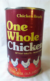 One Whole Chicken in a can, 3lb 2 oz