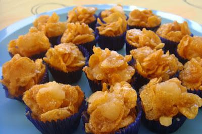 Resepi Cornflakes Madu Yang Mudah